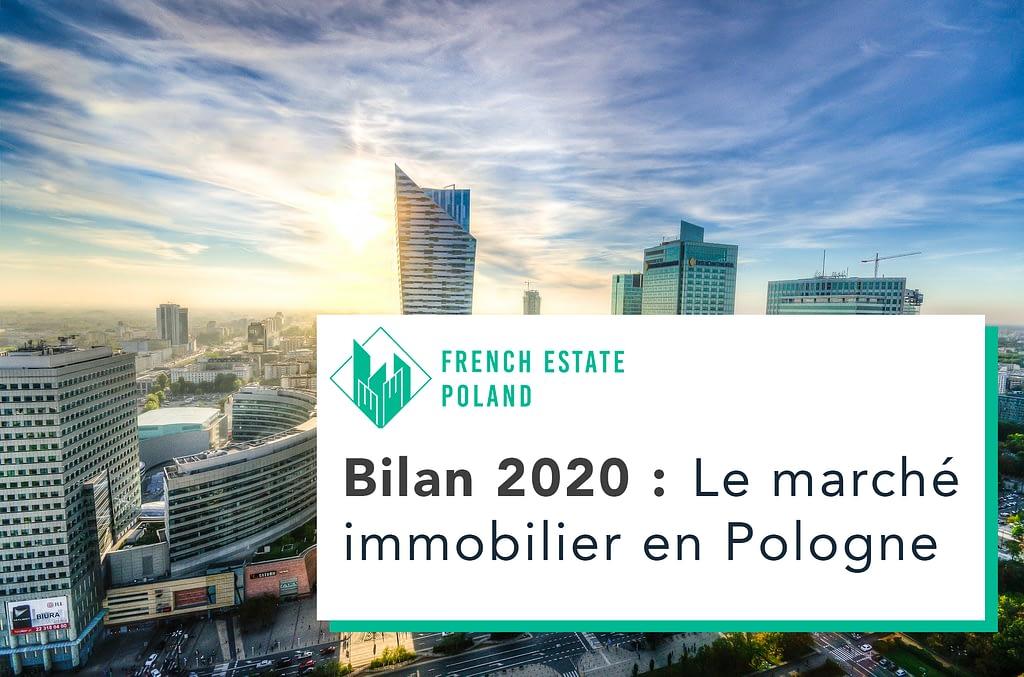 Bilan 2020 marche immobilier pologne